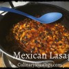 Dutch Oven Mexican Lasagna Recipe