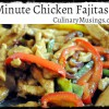 Quick Chicken Fajitas Recipes