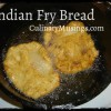 Dutch Oven Indian Fry Bread Recipe