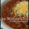Easy 20-Minute Chili