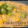 Pennsylvania Dutch Corn & Chicken Soup with Dumplings