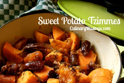 Sweet potato tsimmes