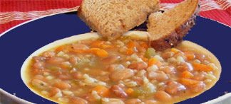 pinto bean and barley soup