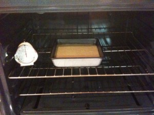 Place cornbread mixture in 375 degree oven