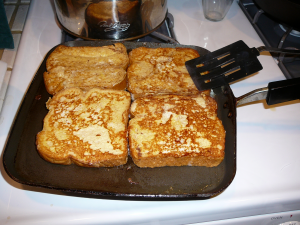 Cooked French Toast