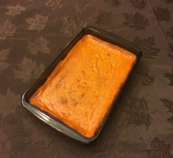 Carrot souffle recipe