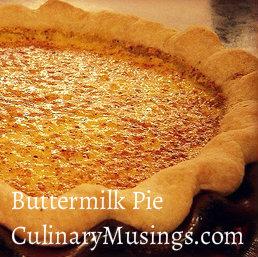 buttermilk pie sq