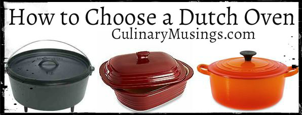 How to Choose a Dutch Oven