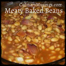 smoked turkey baked beans recipe