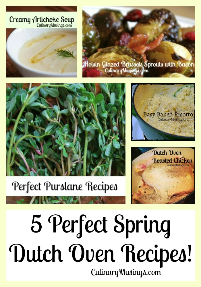 5 perfect spring dutch oven recipes