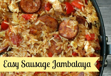 Easy Sausage Jambalaya Recipe