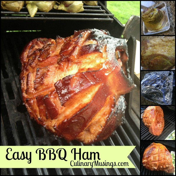 bbq ham collage