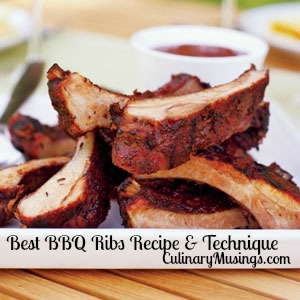 Best BBQ Ribs Recipe & Technique - CulinaryMusings.com