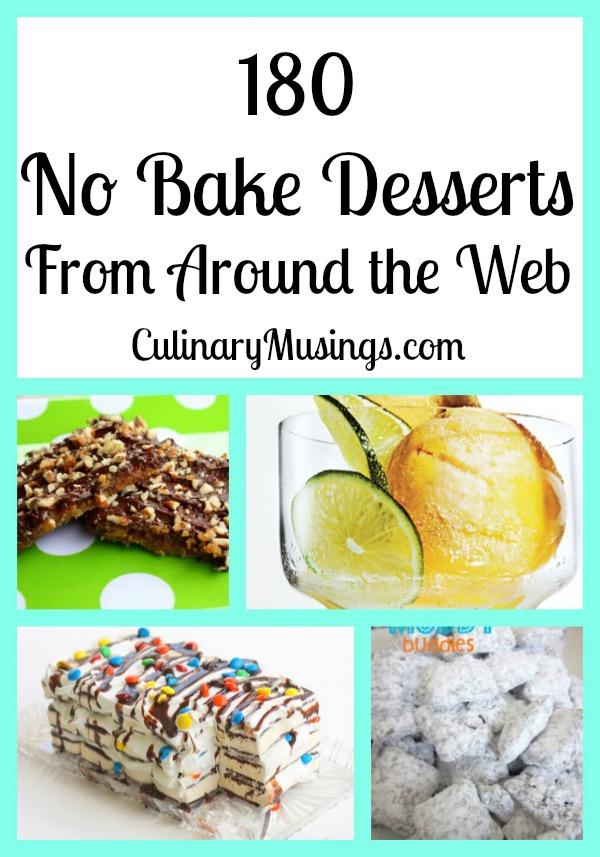 180 no-bake desserts roundup
