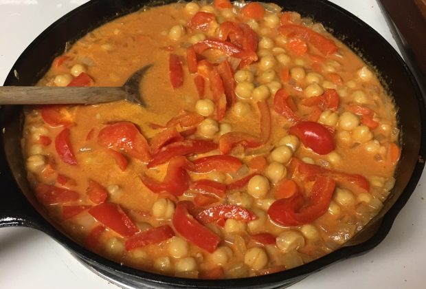 Chickpea Red Curry