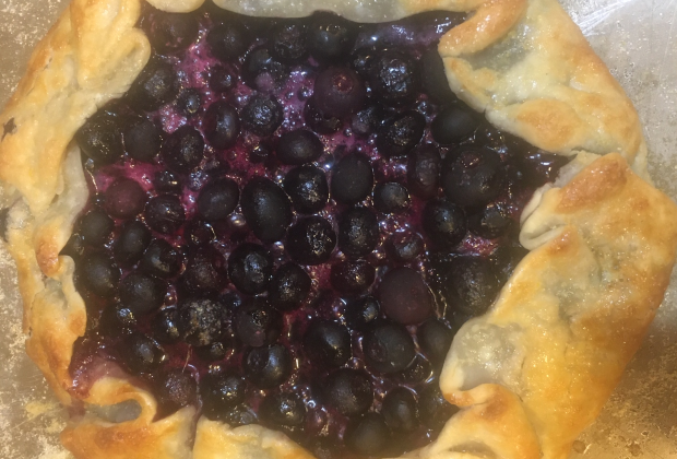 Blueberry Rustic Gallete