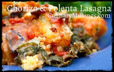 Chorizo & Polenta Lasagna