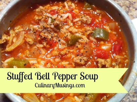 Stuffed Bell Pepper Soup Recipe