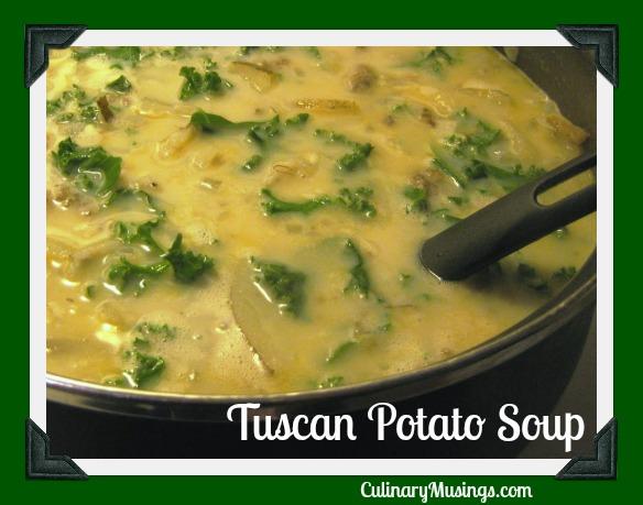 Tuscan Potato Soup Recipe